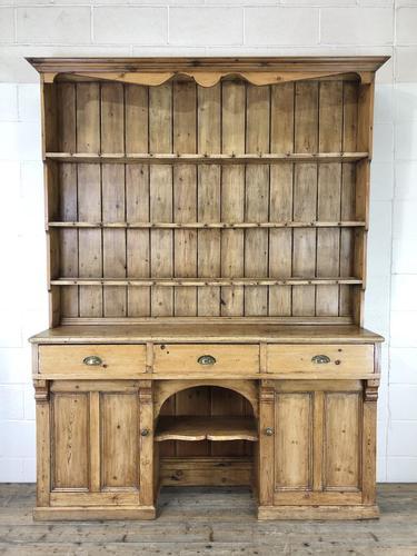Large Victorian Antique Pine Dresser (1 of 17)
