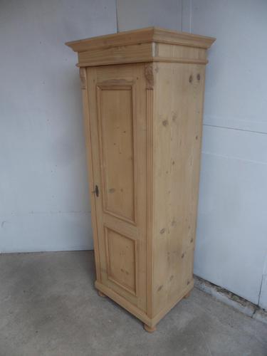 Mint Clean Antique Pine 1 Door Multi Functional / Cupboard to wax / paint (1 of 9)