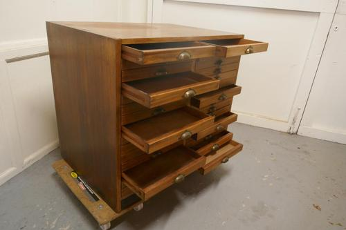 19th Century Architect's Filing Drawers (1 of 6)