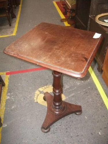Early Mahogany Occasional / Lamp Table (1 of 1)