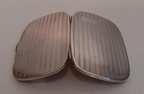Silver Cigarette Case, Hallmarked 1925 (1 of 4)