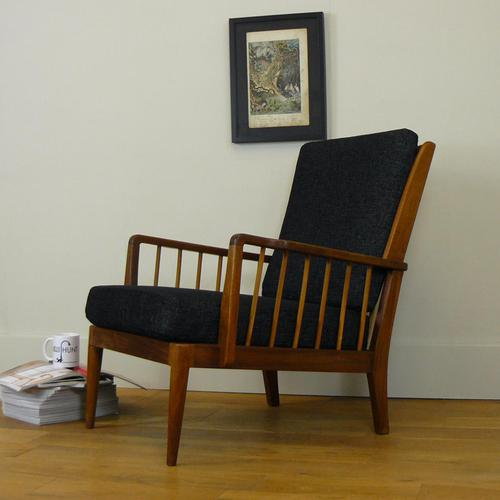 Mid Century Teak Armchair by George Stone High Wycombe (1 of 13)