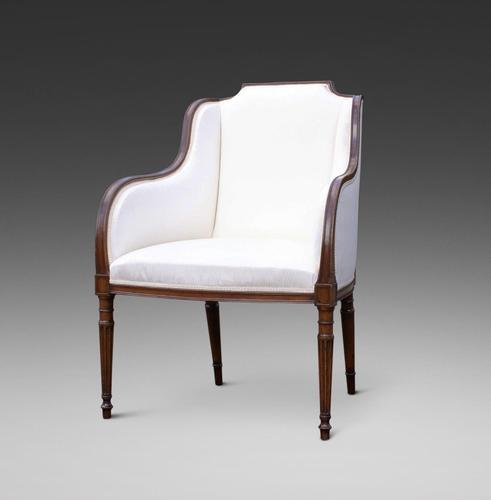 A Hepplewhite Period Mahogany Armchair (1 of 6)
