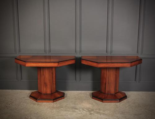 Pair of Art Deco Console Tables (1 of 15)