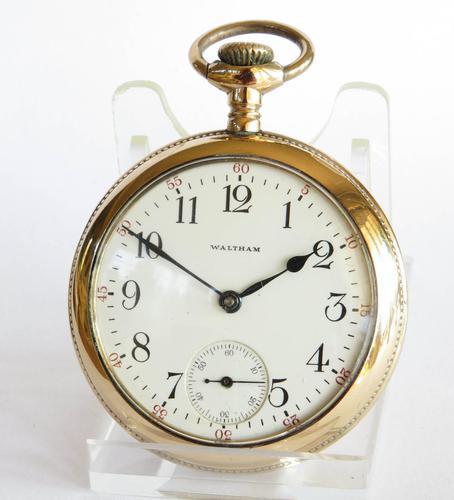 Antique Waltham Bond Street Pocket Watch (1 of 4)