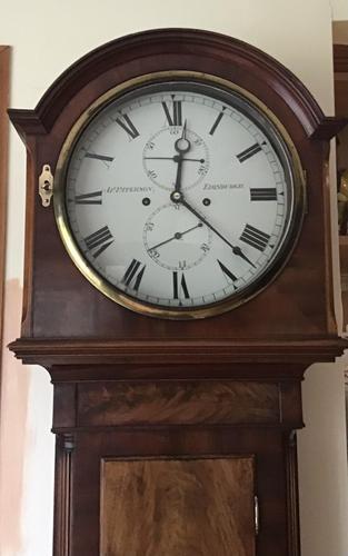 Clock Longcase James Paterson Edinburgh (1 of 7)