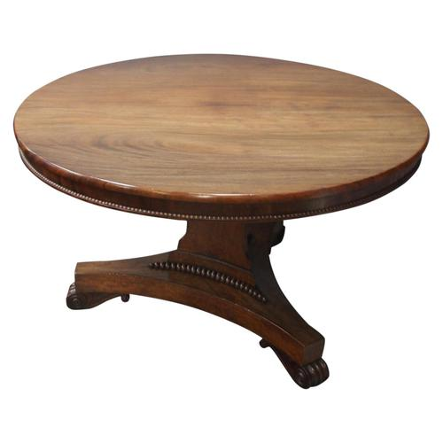 George III Mahogany Breakfast Table, likely by W. Trotter (1 of 10)