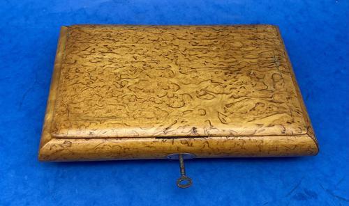 Russian Burr Ash Table Box (1 of 14)