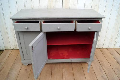 Grey Painted Cupboard (1 of 5)