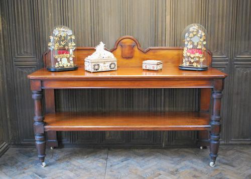Large Antique Country House Mahogany Server / Console (1 of 7)