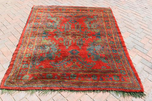 Antique Ushak rug 199x161cm (1 of 6)