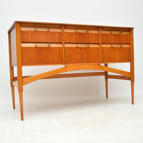 1950's Vintage Satinwood Sideboard (1 of 11)