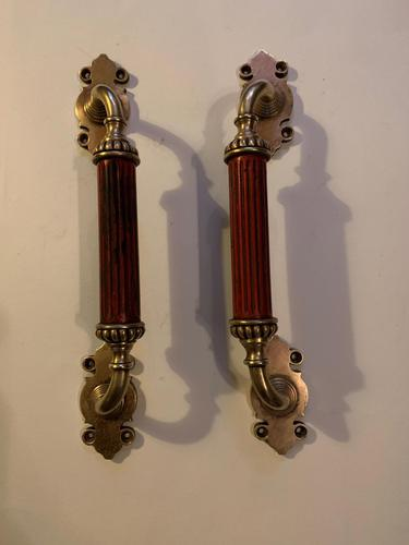 A Pair of Victorian Door Pulls (1 of 2)
