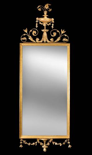 Late 18th Century Giltwood Mirror (1 of 4)