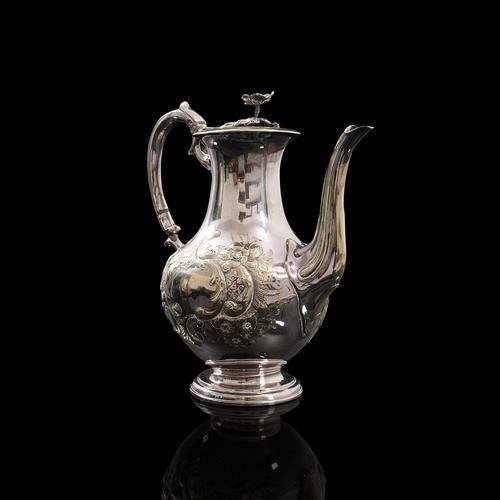 Antique Decorative Tea Urn, English, Silver Plate, Teapot, Edwardian c 1910 (1 of 12)