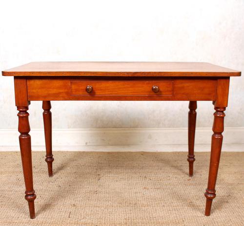 Edwardian Mahogany Writing Desk Table (1 of 12)