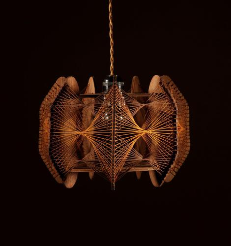 Very Decorative & Stylish Art Illuminated Sculpture in the Style of Naum Gabo (1 of 6)