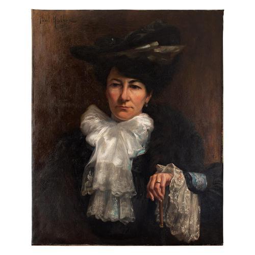 Paul-Antoine Hallez, Portrait of Lady with Umbrella (1 of 10)