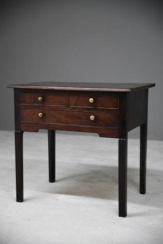 Georgian Mahogany Lowboy (1 of 11)
