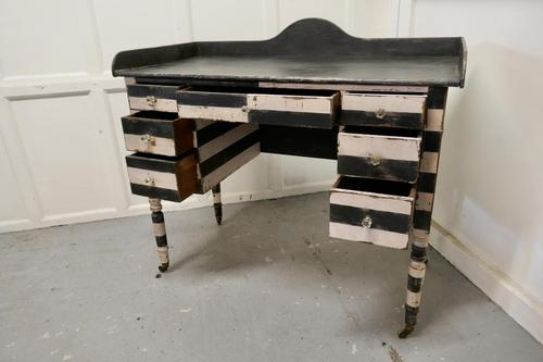 19th Century Italian Baroque Painted Console Side Table (1 of 6)
