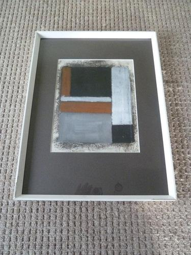 Mid Century Abstract Expressionist Painting , Needs Research (1 of 7)