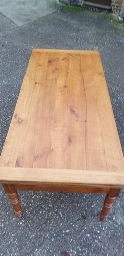 Huge French Farmhouse Kitchen Refrectory Table (1 of 8)