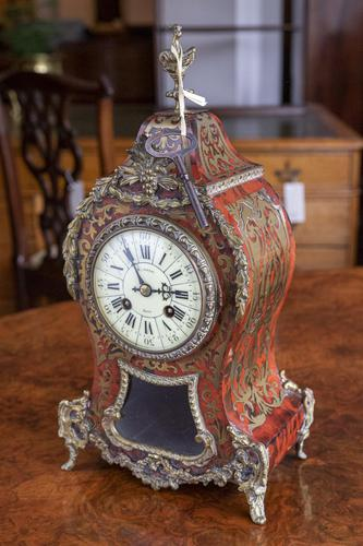 Boule Work 8 Day Clock with Original Key (1 of 8)