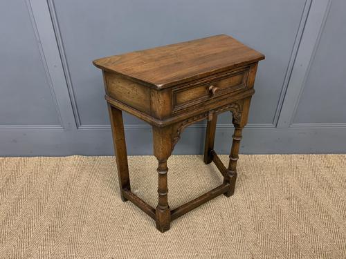 Ipswich Oak Side/hall Table (1 of 9)
