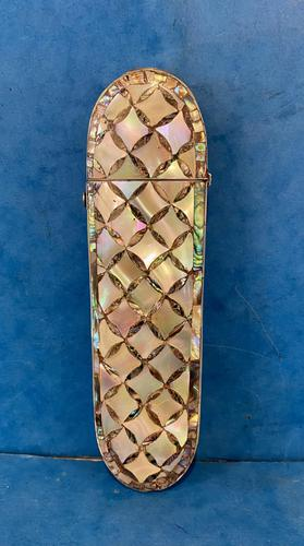 Victorian Mother of Pearl & Abalone Spectacle Case (1 of 17)