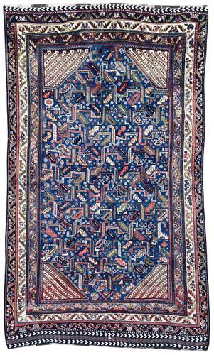 Antique Qashqai Rug (1 of 9)