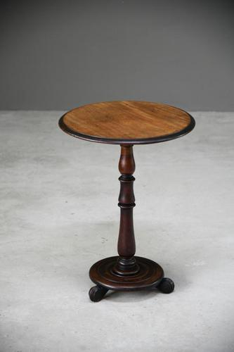 19th Century Mahogany Occasional Table (1 of 12)