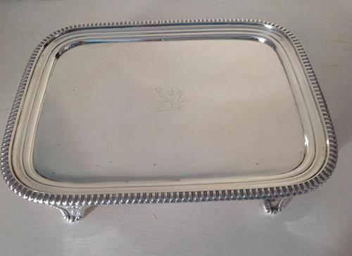 Antique Georgian Silver Salver / Tray - 1811 (1 of 4)