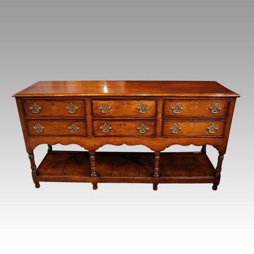 George III Oak Dresser Base (1 of 12)