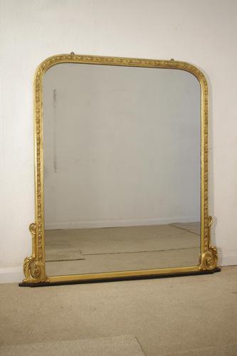Victorian Gilt  Mirror (1 of 9)