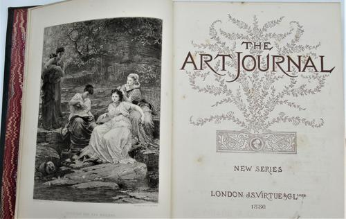 The Art Journal, New Series 1886 complete, fine engravings (1 of 5)