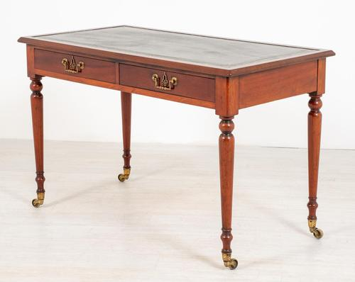 Freestanding Victorian Mahogany Writing Table (1 of 10)