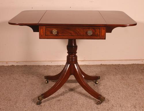 Small Pembroke Table 19th Century in Mahogany (1 of 12)