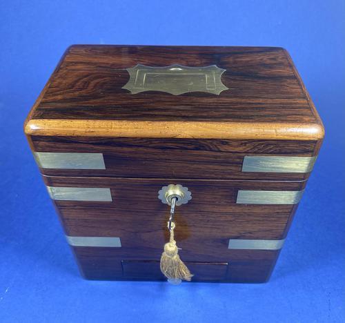 Victorian Rosewood Medicine Box (1 of 15)