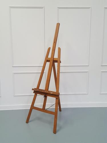 French Artist Easel made in c1950 (1 of 3)
