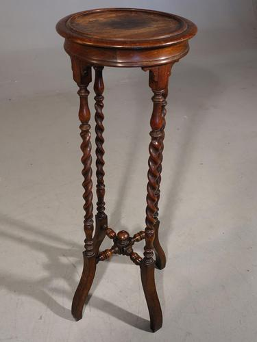 Early 20th Century Oak Jardinière Stand (1 of 5)