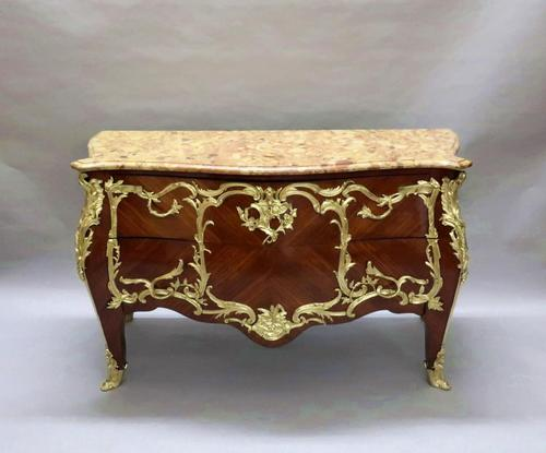 French Louis XV Style Chest of Drawers by E Kahn (1 of 11)