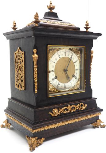 Amazing New Haven mantle clock 8 Day Westminster Chime Bracket Clock Very Rare (1 of 10)
