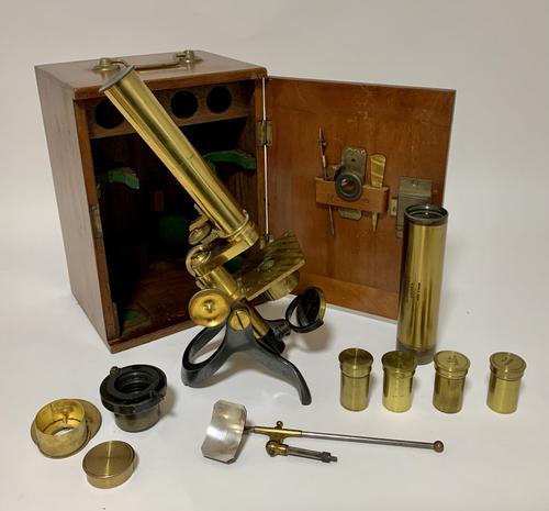 Rare Antique Microscope The Davon Micro-Telescope (1 of 18)