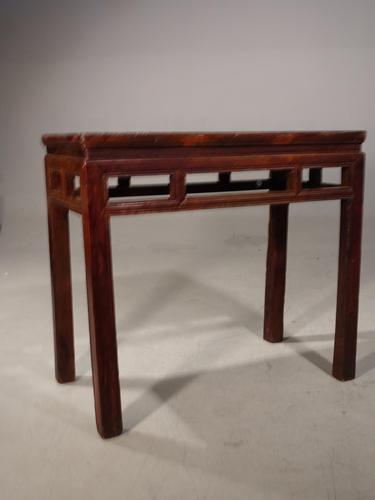 Late 19th Century Elm Side Table (1 of 5)