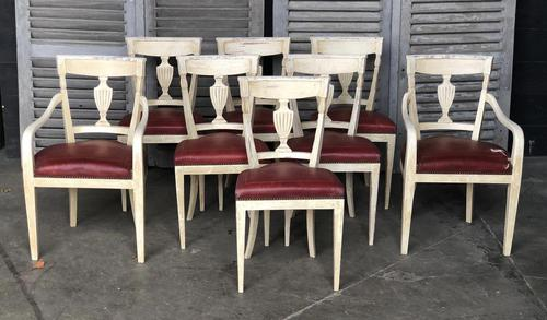 Set of 8 French Directoire Dining Chairs (1 of 16)
