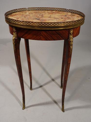 Late 19th Century Kingwood Gueridon (1 of 6)