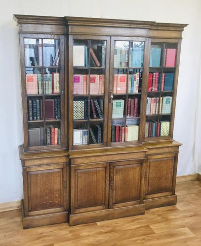 Oak Library Bookcase (1 of 18)