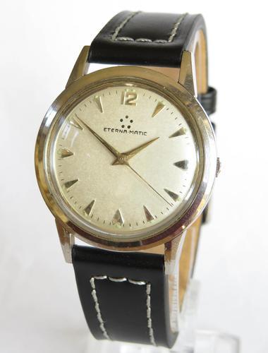 Gents Eterna-matic Wrist Watch, 1957 (1 of 5)