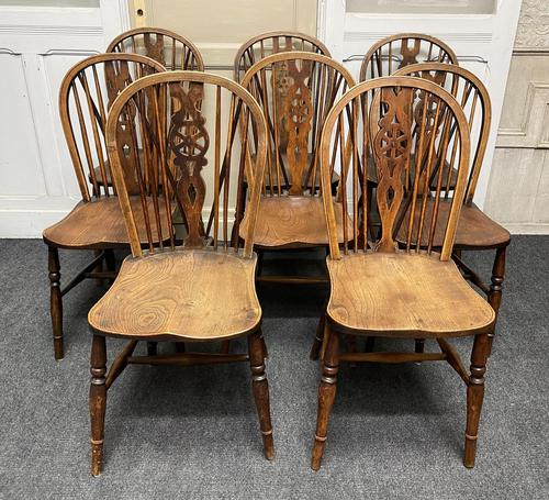 Harlequin Set of 8 18th Century Windsor Dining Chairs (1 of 15)