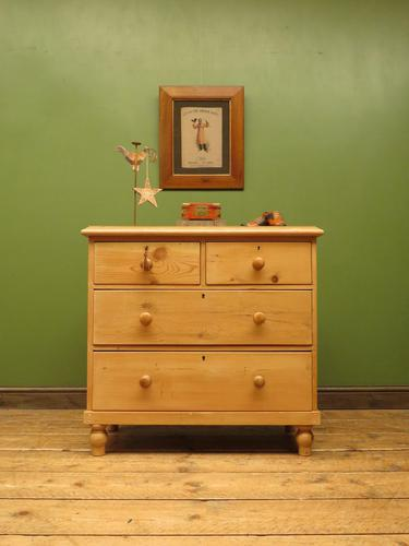 Antique Victorian Pine Chest of Drawers, Adaptable Sink Unit (1 of 15)